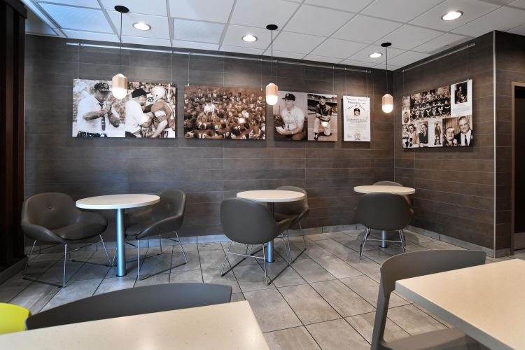 Newcomerstown McDonalds Restaurant Woody Hayes / Cy Young Exhibit