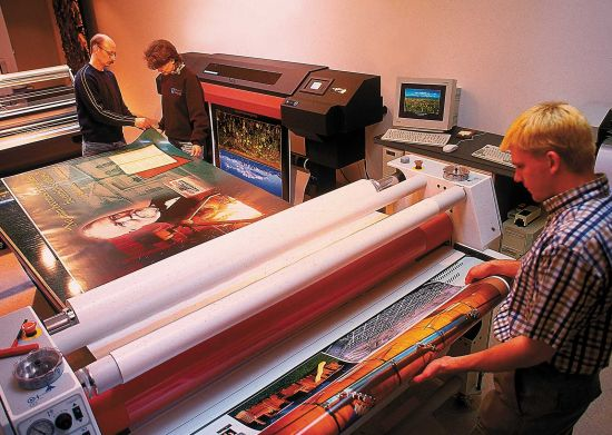 Large Format Printing, Laminating and Framing